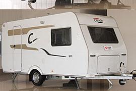 精巧細致 Carado Delight 160L拖掛式房車評測之外觀篇