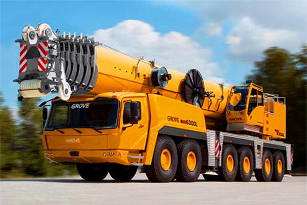 艾里逊4500 SP 变速箱的GMK 6300L起重吊机